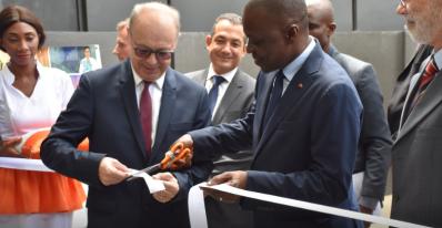 M. Amadou KONE et M. Gouvernayre,